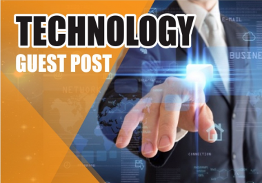FIVE Business and Technology Guest Posts- High Quality, NO PBN, Genuine Blog Outreach]