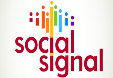 50,000 mixed real permanent PR9 social signals to Improve SEO & boost Google ranking