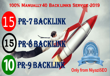 We will do manually 15 PR-7 15 PR-8 10 PR-10 Domain Authority Backlink SkyRocket Your Google RANKING