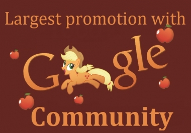 Best promotion for Websites/Videos/Products with world largest Google Community