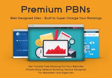 2019 High Domain metrics 40 PBNs Backlinks and 4500 2nd Tire Contextual Backlinks