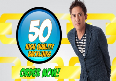 50 High Quality Backlinks in 24 Hours or Less!