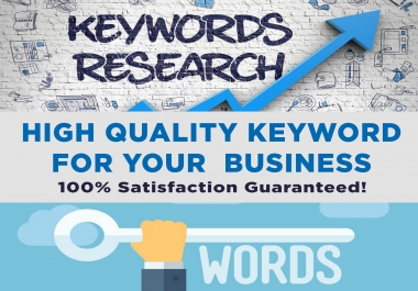 Do 200 Best Keyword Research For Your Niche/business