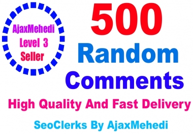 A Do Genuine Promotion 50 High-Quality English Speaking countries profiless Random Post Comments