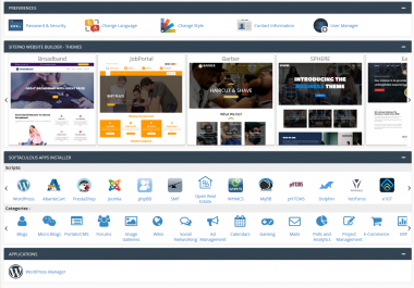 Web Hosting - 1 year - cPanel, Unlimited Domains, Traffic and Bandwidth