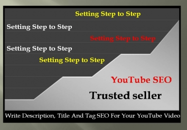 Write Description, Title And Tag SEO For Your Youtube Video with best Quality