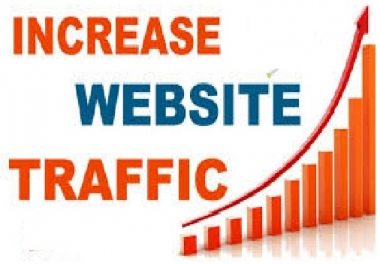 Will Increase 100K  Traffic Visitors To Your Website