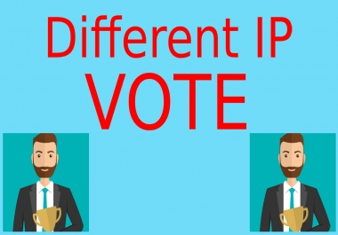 Give You 200 USA Different IP,s Online Contest Votes