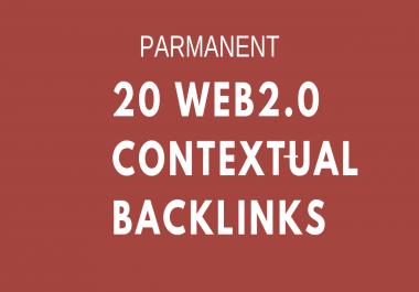 Create20 High Authority Web20 Backlinks