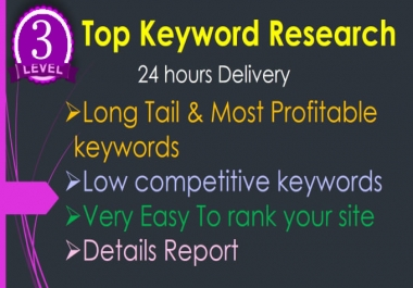 Do In Depth SEO keyword Research And Competitor Research