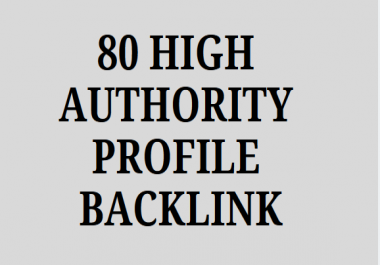**** 80 High Quality Special SEO Link Building Service.****