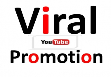 Get  More Traffic With  Viral Youtube Video Promotion with best Quality