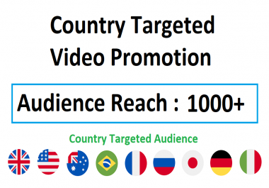 Country Specific Video Viral Marketing Promotion