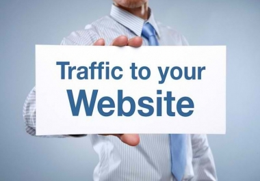 Unlimited Web Traffic To Any Website blog or any shopping website