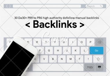 41 Da30+ PR9 to PR6 high authority dofollow manual backlinks for google ranking for $5