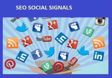 WILL DO SOCIAL SIGNALS SEO TO BOOST SOCIAL RANKING