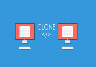 Clone any website on the world which you interest