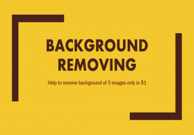 Remove background of your 50 simple images