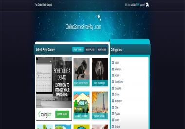Link on Online Games website