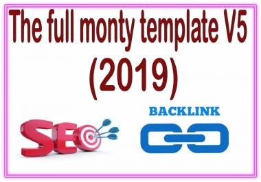 Highly Diversified SEO-The full monty template V5 2019