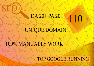 I Will 110 Unique Domains Manual Blog Comments Backlinks Da,Pa,