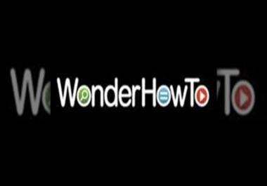 Publish A Guest Post On WonderHowTo DA90+