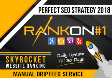 Help To Rank Your Website On Google, 30 Days SEO Backlinks