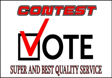 Give 100+Real People Traffic For Your  Contest votes
