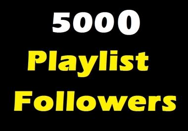 SUPER FAST 5000 Playlist Music Artist Profile followers