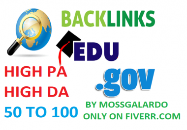 Build 100+ US Based EDU. GOV Authority Backlinks