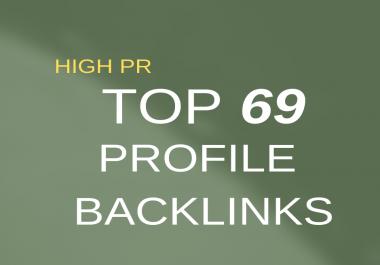 give you 69 USA High Quality Seo BackLinks