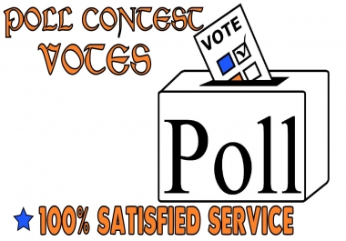 Bring 100+ votes on any online Website votes Or Poll votes