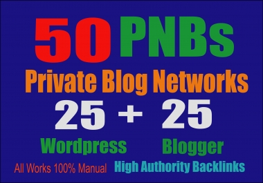 50 PBN POSTs Backlinks Wordpress And Blogger With High DA And add links my premium Indexer