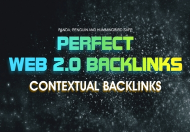Will Create 20 High Quality Web 2 0 Backlinks
