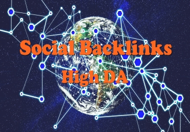 Manual 5 Social Backlinks High DA and Dofollow