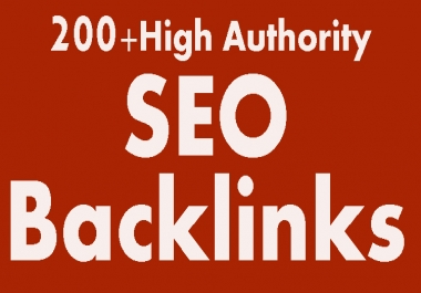 Rank Higher In Google With 200+High Domain Authority Seo Backlinks