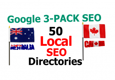 Create Top 50 Australia and Canada Local Directories