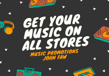 Release Your Music On The Digital Stores