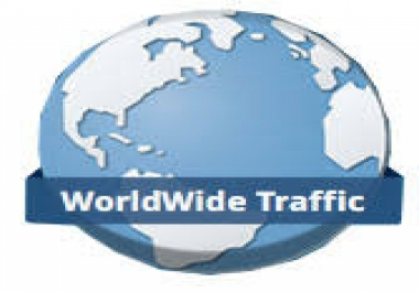 100,000 Send Real Worldwide Web Traffic To Your Web Site