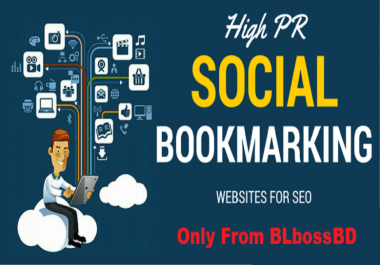 40 Social Bookmarks From Top Class Domains Authority