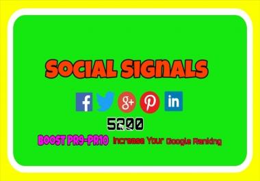 PR09-06, PR10-07, PR03-10 5200 Real SEO Social Signals Including Signals Social Bookmark