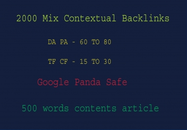 All In One Mix Contextual SEO Boost Backlinks