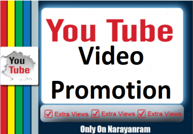 YouTube Video Marketing And Social Media Promotion service