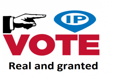 To do 300 Different IP Votes On Your Online Voting Contest Entry Poll
