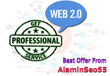 Best Offer 100+ Web 2.0 High Quality Profile Backlinks On DA80 to100 Sites