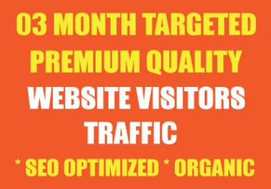 "03 MONTH ""UNLIMITED"" ULTRA NICHE/KEYWORD TARGETED TRAFFIC"