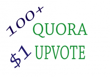 100+ Quora Upvote to your question