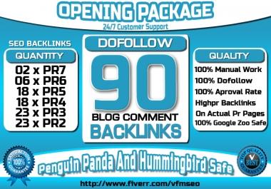Make 90 Manual Dofollow Blog Comments Da 20 Plus