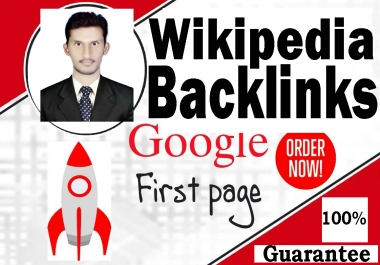 Super Strong High Quality Wikipedia SEO Backlinks Real Sticky