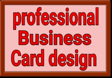professional business card design instant start and super fast delivery
